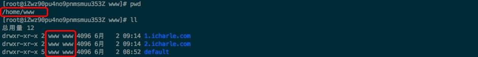 root文件目录示例